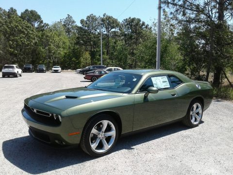 F8 Green Dodge Challenger SXT.  Click to enlarge.