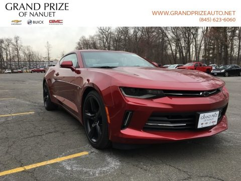 Garnet Red Tintcoat Chevrolet Camaro LT Coupe.  Click to enlarge.