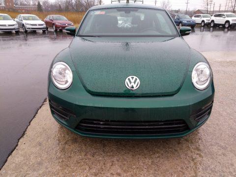 Bottle Green Metallic Volkswagen Beetle S.  Click to enlarge.