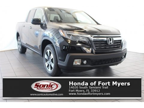 Crystal Black Pearl Honda Ridgeline RTL AWD.  Click to enlarge.