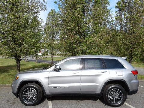 Billet Silver Metallic Jeep Grand Cherokee Limited 4x4.  Click to enlarge.