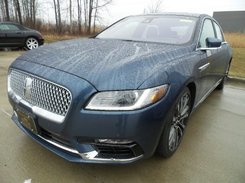 Blue Diamond Lincoln Continental Reserve AWD.  Click to enlarge.