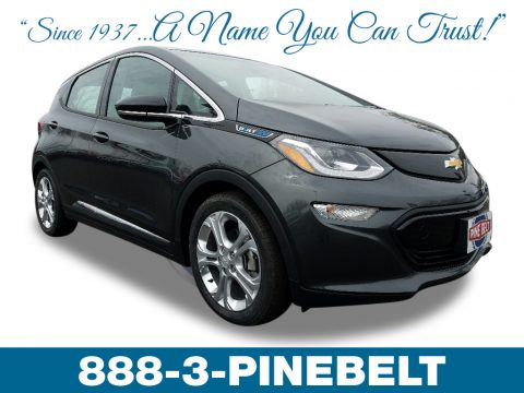 Mosaic Black Metallic Chevrolet Bolt EV LT.  Click to enlarge.