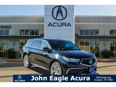 Crystal Black Pearl Acura MDX Technology.  Click to enlarge.