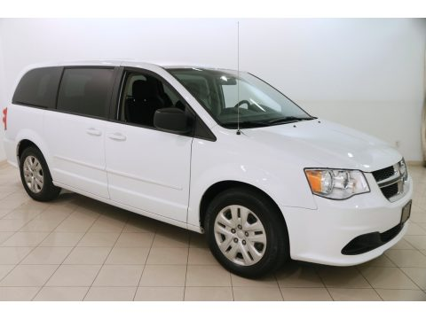 Bright White Dodge Grand Caravan SE.  Click to enlarge.