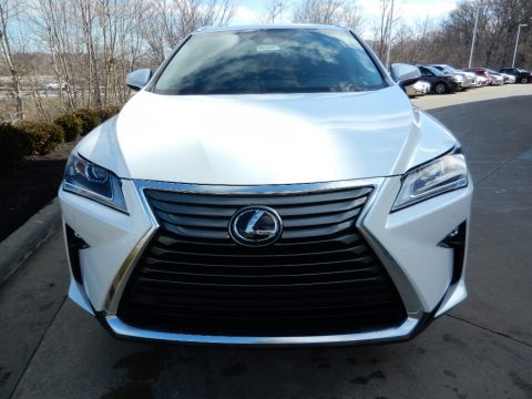 Eminent White Pearl Lexus RX 350.  Click to enlarge.
