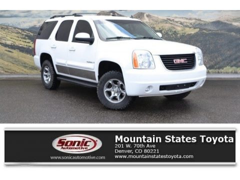 Summit White GMC Yukon SLT 4x4.  Click to enlarge.