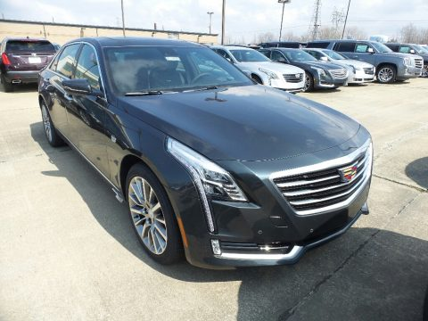 Stone Gray Metallic Cadillac CT6 3.6 Premium Luxury AWD Sedan.  Click to enlarge.