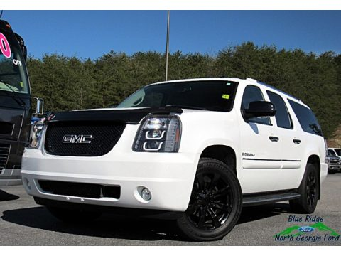 Summit White GMC Yukon XL Denali AWD.  Click to enlarge.