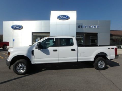 Oxford White Ford F350 Super Duty XL Crew Cab 4x4.  Click to enlarge.