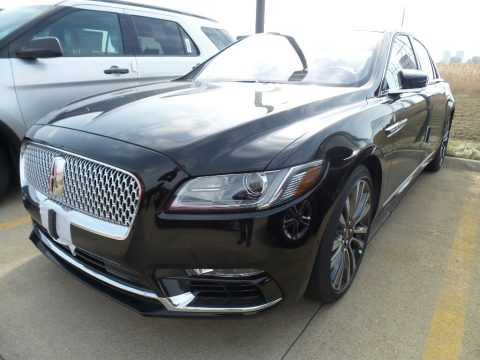 Black Velvet Lincoln Continental Reserve AWD.  Click to enlarge.
