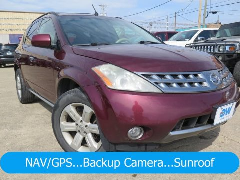 Sunset Red Pearl Metallic Nissan Murano SL AWD.  Click to enlarge.
