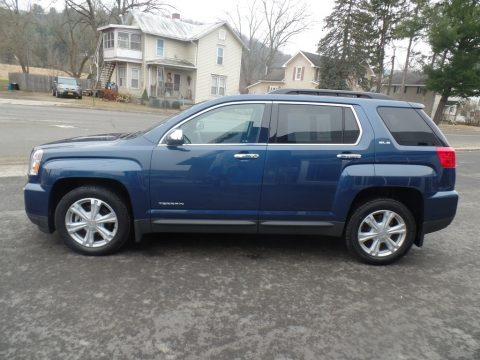 Slate Blue Metallic GMC Terrain SLE AWD.  Click to enlarge.