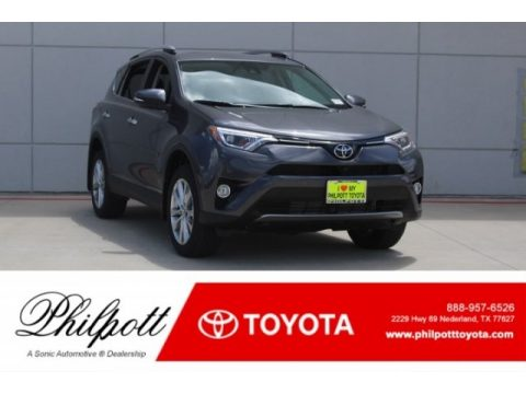 Magnetic Gray Metallic Toyota RAV4 Limited.  Click to enlarge.