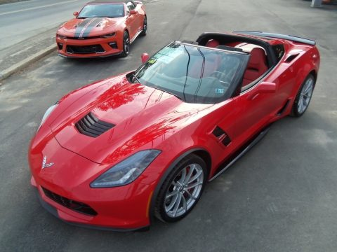 Torch Red Chevrolet Corvette Grand Sport Coupe.  Click to enlarge.