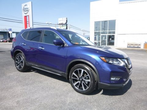 Caspian Blue Nissan Rogue SL AWD.  Click to enlarge.