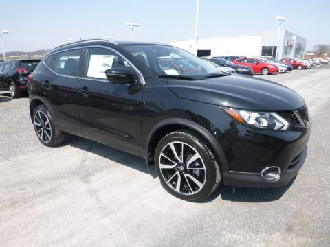 Magnetic Black Nissan Rogue Sport SL AWD.  Click to enlarge.