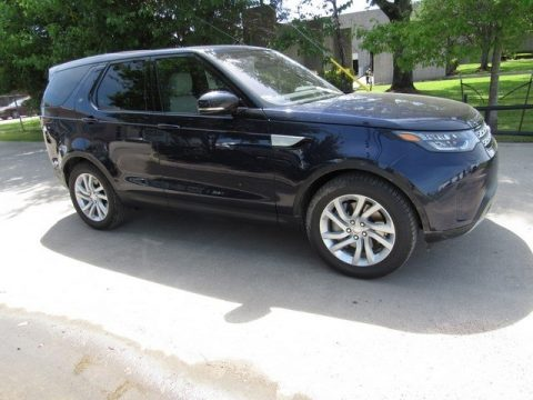 Loire Blue Metallic Land Rover Discovery HSE.  Click to enlarge.
