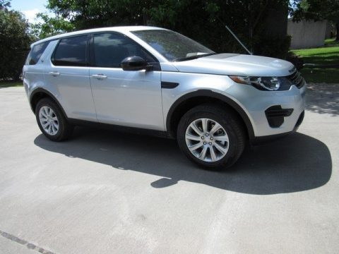 Indus Silver Metallic Land Rover Discovery Sport SE.  Click to enlarge.