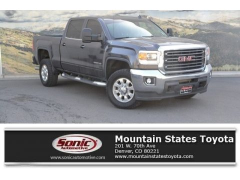 Iridium Metallic GMC Sierra 2500HD SLE Crew Cab 4x4.  Click to enlarge.