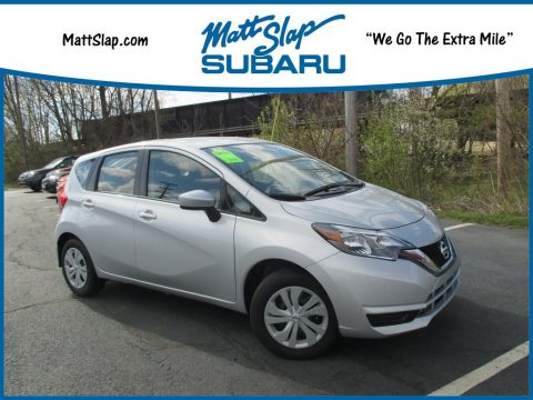 Brilliant Silver Nissan Versa Note SV.  Click to enlarge.