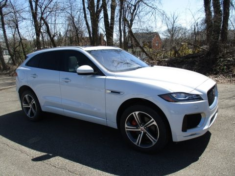 Yulong White Metallic Jaguar F-PACE S AWD.  Click to enlarge.