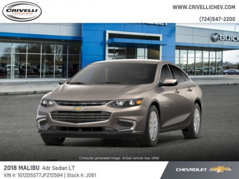 Pepperdust Metallic Chevrolet Malibu LT.  Click to enlarge.