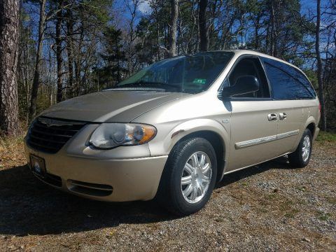 Linen Gold Metallic Chrysler Town & Country Touring.  Click to enlarge.