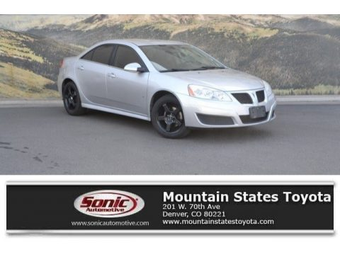 Quicksilver Metallic Pontiac G6 Sedan.  Click to enlarge.