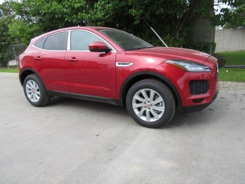Firenze Red Metallic Jaguar E-PACE S.  Click to enlarge.