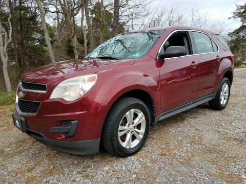Cardinal Red Metallic Chevrolet Equinox LS.  Click to enlarge.