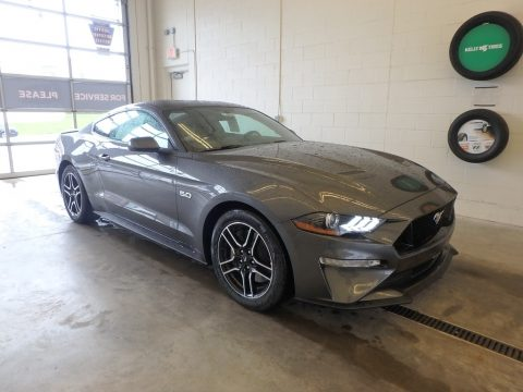 Magnetic Ford Mustang GT Fastback.  Click to enlarge.