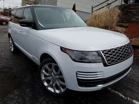 Yulong White Metallic Land Rover Range Rover Supercharged LWB.  Click to enlarge.