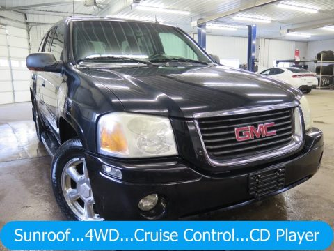 Onyx Black GMC Envoy SLT 4x4.  Click to enlarge.