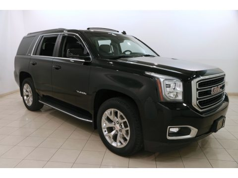 Onyx Black GMC Yukon SLT 4WD.  Click to enlarge.