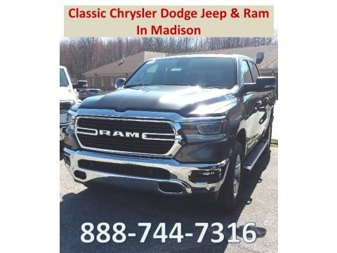 Granite Crystal Metallic Ram 1500 Big Horn Crew Cab 4x4.  Click to enlarge.
