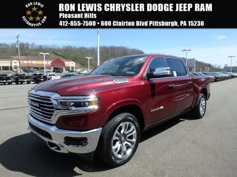 Delmonico Red Pearl Ram 1500 Long Horn Crew Cab 4x4.  Click to enlarge.