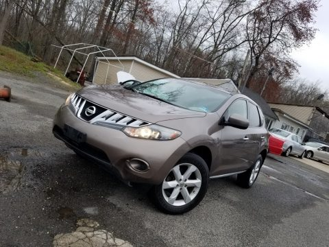 Tinted Bronze Metallic Nissan Murano LE AWD.  Click to enlarge.