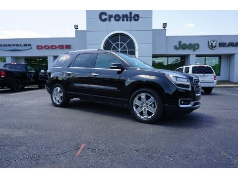 Ebony Twilight Metallic GMC Acadia Limited FWD.  Click to enlarge.