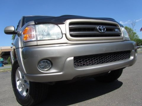 Desert Sand Mica Toyota Sequoia SR5 4x4.  Click to enlarge.