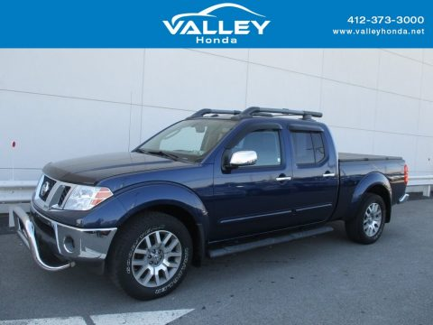 Navy Blue Nissan Frontier SE Crew Cab 4x4.  Click to enlarge.