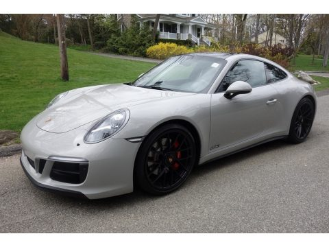 Chalk Porsche 911 GTS Coupe.  Click to enlarge.