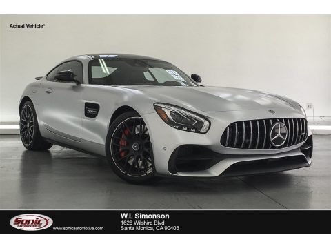 designo Iridium Silver Magno (Matte) Mercedes-Benz AMG GT S Coupe.  Click to enlarge.