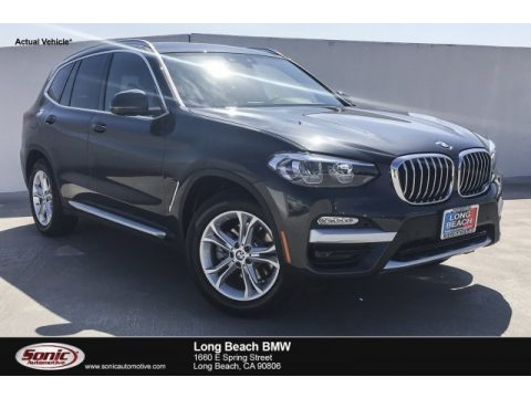 Dark Graphite Metallic BMW X3 sDrive30i.  Click to enlarge.