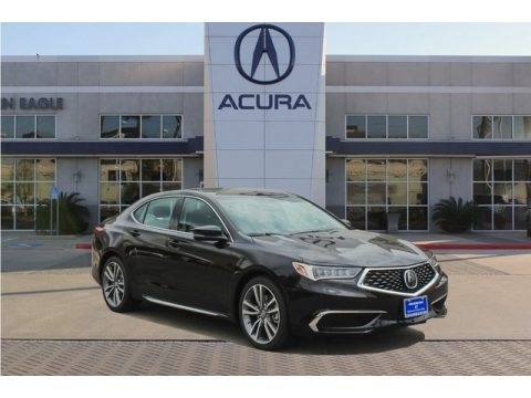 Crystal Black Pearl Acura TLX V6 Sedan.  Click to enlarge.