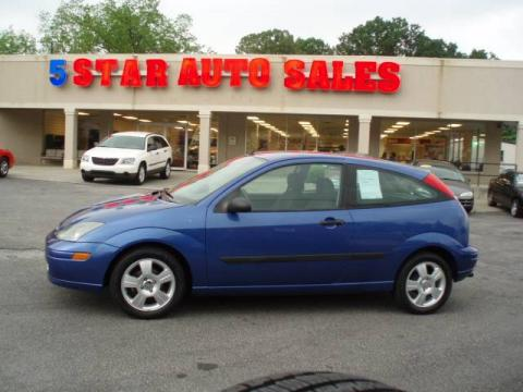 used 2003 ford focus zx3 coupe for sale stock z125329. Black Bedroom Furniture Sets. Home Design Ideas