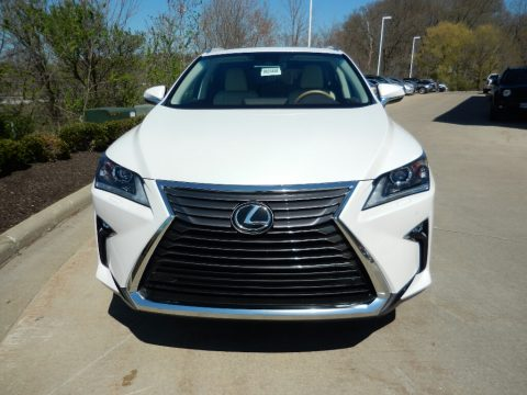 Eminent White Pearl Lexus RX 350L AWD.  Click to enlarge.
