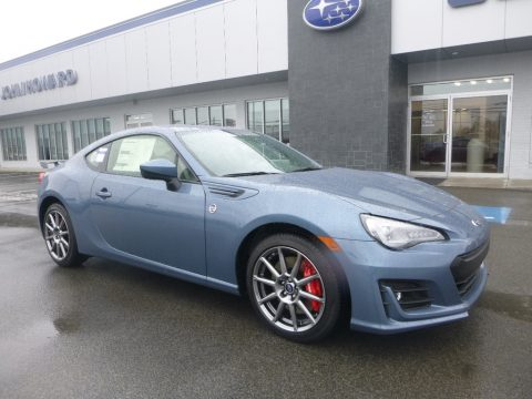 Heritage Blue Subaru BRZ Limited.  Click to enlarge.