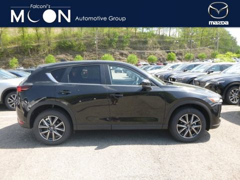 Jet Black Mica Mazda CX-5 Touring AWD.  Click to enlarge.