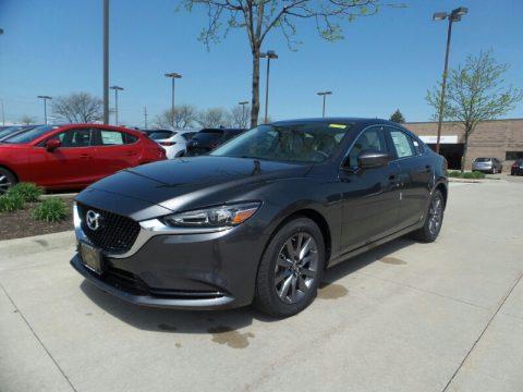 Machine Gray Metallic Mazda Mazda6 Sport.  Click to enlarge.